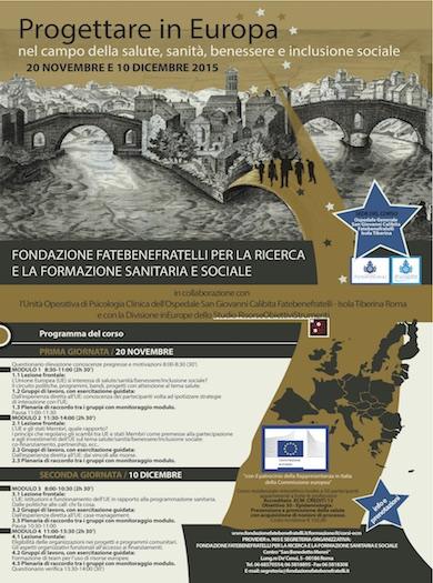 Progettare in europa in Sanità. Formazione ECM